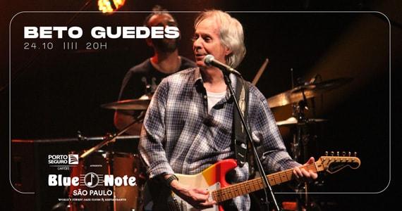 Show de Beto Guedes no Blue Note em Outubro Eventos BaresSP 570x300 imagem