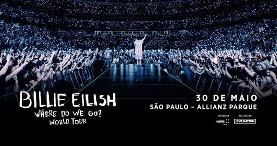 Billie Eilish traz nova turnê ao Allianz Parque