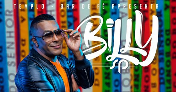 Templo Bar recebe o show de Billy SP