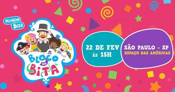 Bloco do Bita anima o Carnaval do Espaço das Américas Eventos BaresSP 570x300 imagem