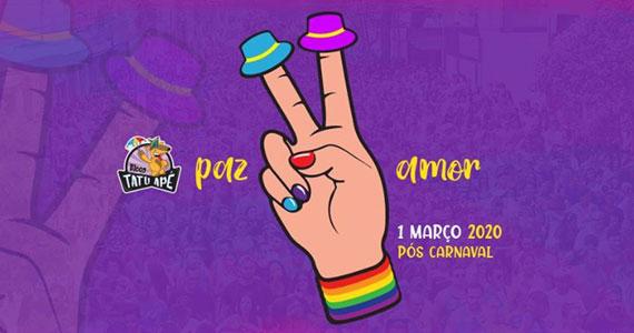 Bloco Tatuapé agita o Carnaval de rua da zona leste de São Paulo Eventos BaresSP 570x300 imagem
