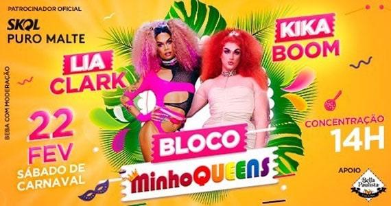 Bloco MinhoQueens leva hits de Carnaval em São Paulo Eventos BaresSP 570x300 imagem