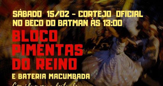 Bloco Pimentas do Reino desfila no Carnaval de rua de São Paulo Eventos BaresSP 570x300 imagem
