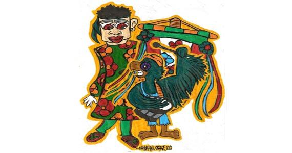 Desfile de carnaval com o bloco Cordão Folclórico Itaquera Sucatas Ambulantes na Rua Botuporã Eventos BaresSP 570x300 imagem