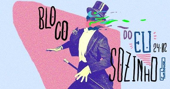 Festa de Carnaval ao som das músicas do Bloco do Eu Sozinho e Los Hermanos na Funhouse Eventos BaresSP 570x300 imagem