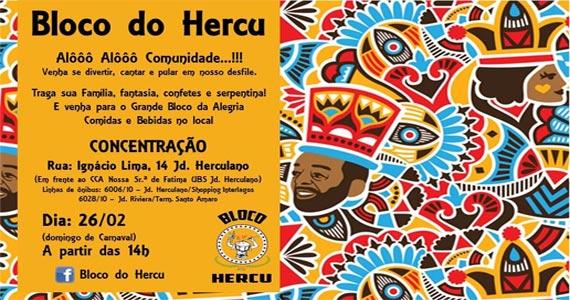 Alôôô Comunidade o bloco Hercu vai invadir a Rua Ignácio Lima Eventos BaresSP 570x300 imagem