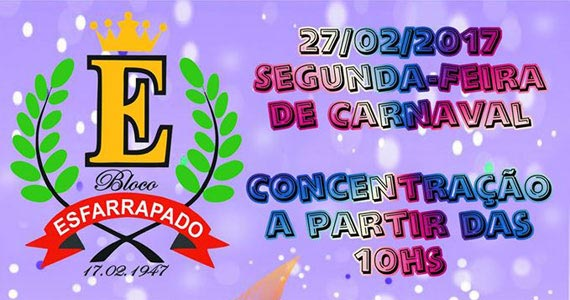 Bloco Esfarrapado agita a galera na segunda de carnaval na Bela Vista Eventos BaresSP 570x300 imagem