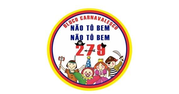 Desfile do bloco Não tô bem, Não tô bem, 279 pelas ruas da Lapa de Baixo no Carnaval SP Eventos BaresSP 570x300 imagem