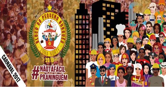 Carnaval 2017 com o bloco do Pequeno Burguês desfilando em Santana Eventos BaresSP 570x300 imagem
