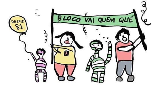 Bloco Vai Quem Qué ocupa as ruas de Pinheiros e Vila Madalena animando o carnaval de rua 2017 Eventos BaresSP 570x300 imagem
