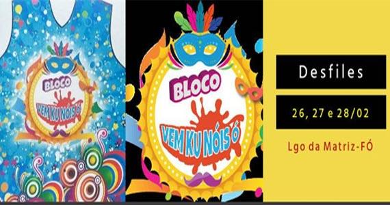 Carnaval na Freguesia do Ó recebe os foliões do Bloco Vem Ku Nóis Ó Eventos BaresSP 570x300 imagem