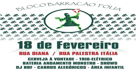 Desfile do bloco Barracão Folia agita o carnaval 2017 na Vila Pompeia Eventos BaresSP 570x300 imagem