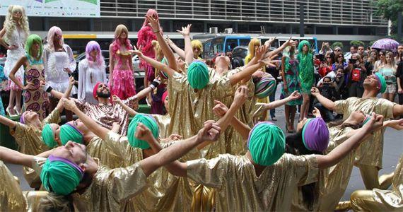 Domingo o Bloco Cosmic Dance percorre a Rua Dr. Virgilio de Carvalho Pinto, em Pinheiros Eventos BaresSP 570x300 imagem