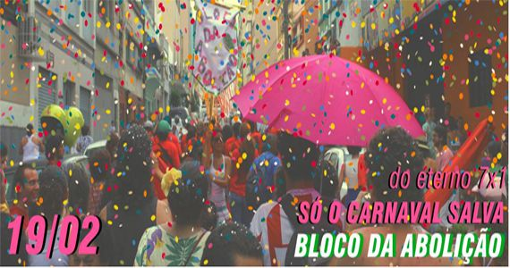 Bloco de Carnaval Abolição sai da Praça General Craveiro Lopes Eventos BaresSP 570x300 imagem