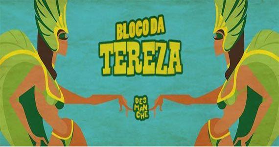 Bloco da Tereza resgata clássicos da tropicália, samba raiz, rock e até baião no Carnaval Eventos BaresSP 570x300 imagem