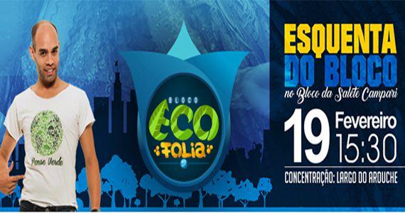 Estreia do Bloco Eco Folia agitando às ruas do centro de São Paulo Eventos BaresSP 570x300 imagem