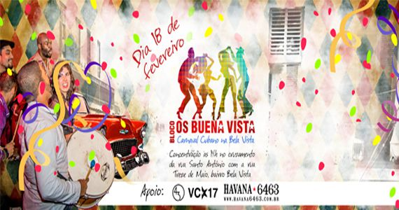O melhor da música cubana com o Bloco Os Buena Vista animando à Bela Vista Eventos BaresSP 570x300 imagem