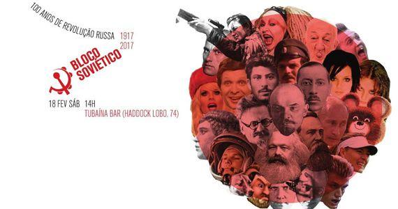 Sábado é dia da 5ª edição do desfile do Bloco Soviético no Tubaína Bar Eventos BaresSP 570x300 imagem
