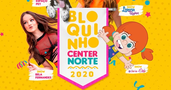 Shopping Center Norte prepara festa de Carnaval com atrações
