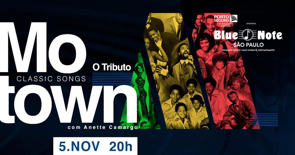Blue Note apresenta Motown Songs - O Tributo com Anette Camargo Eventos BaresSP 570x300 imagem