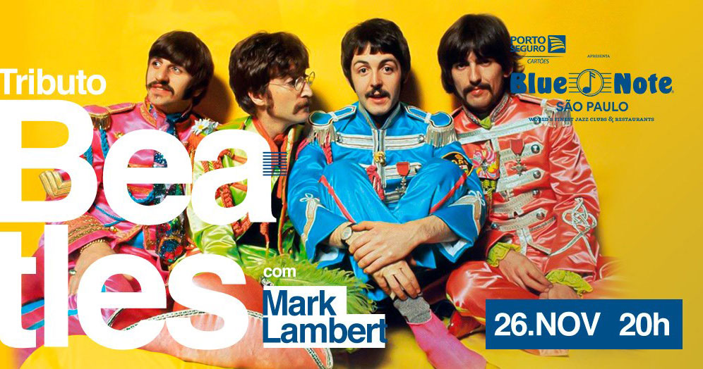 Tributo a Beatles em Jazz com Mark Lambert no Blue Note