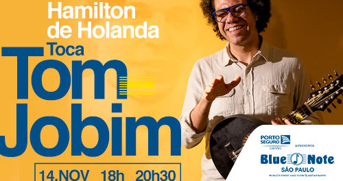 Hamilton de Holanda toca Tom Jobim no Blue Note