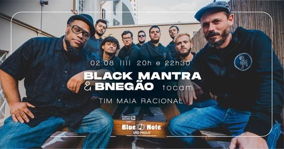 Black Mantra e BNegão tocam Tim Maia Racional no Blue Note Eventos BaresSP 570x300 imagem