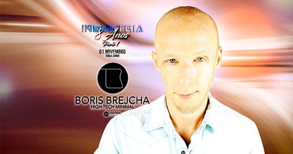 Industria 8 anos com Boris Brejcha agitando a noite da galena na Eazy Eventos BaresSP 570x300 imagem