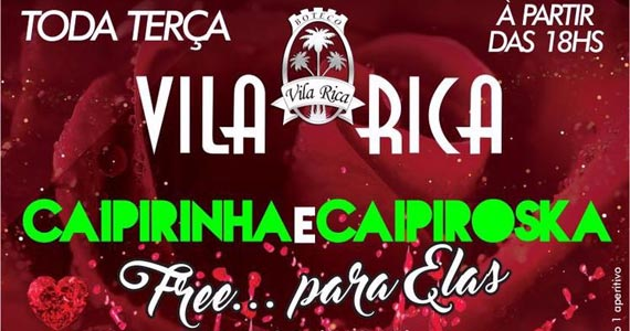 Open de Capirinha e Caipiroska *limão para Elas no Boteco Vila Rica Eventos BaresSP 570x300 imagem