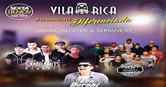 Sexta é dia de curtir os agitos Sambahits, Leo Derobi e Pagode dos Brothers no Boteco Vila Rica Eventos BaresSP 570x300 imagem