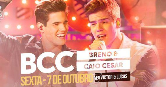 Os gêmeos Breno e Caio Cesar junto com Victor e Lucas fazem um mega show na Woods São Paulo Eventos BaresSP 570x300 imagem