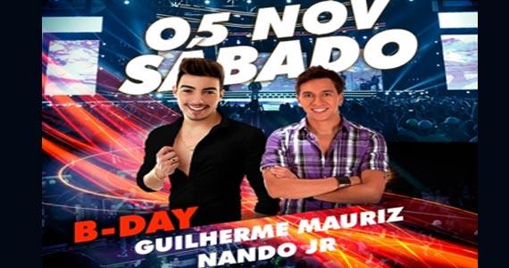 Sábado tem os singles dos cantores Guilherme Mauriz e Nando Jr na Brooks Eventos BaresSP 570x300 imagem