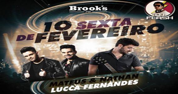 Sábado é dia de curtir o som de Luca Fernandes e da dupla Mateus & Nathan na Brooks Eventos BaresSP 570x300 imagem