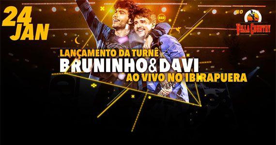 Lançamento da turnê Bruninho & Davi Ao Vivo no Ibirapuera no Villa Country Eventos BaresSP 570x300 imagem