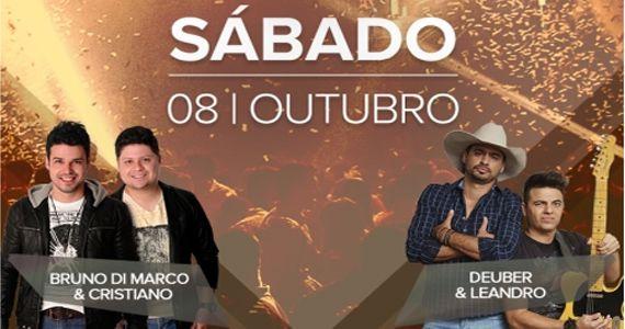 As duplas sertanejas Bruno di Marco & Cristiano e Deuber & Leandro trazem o melhor do sertanejo para a Villa Mix Eventos BaresSP 570x300 imagem