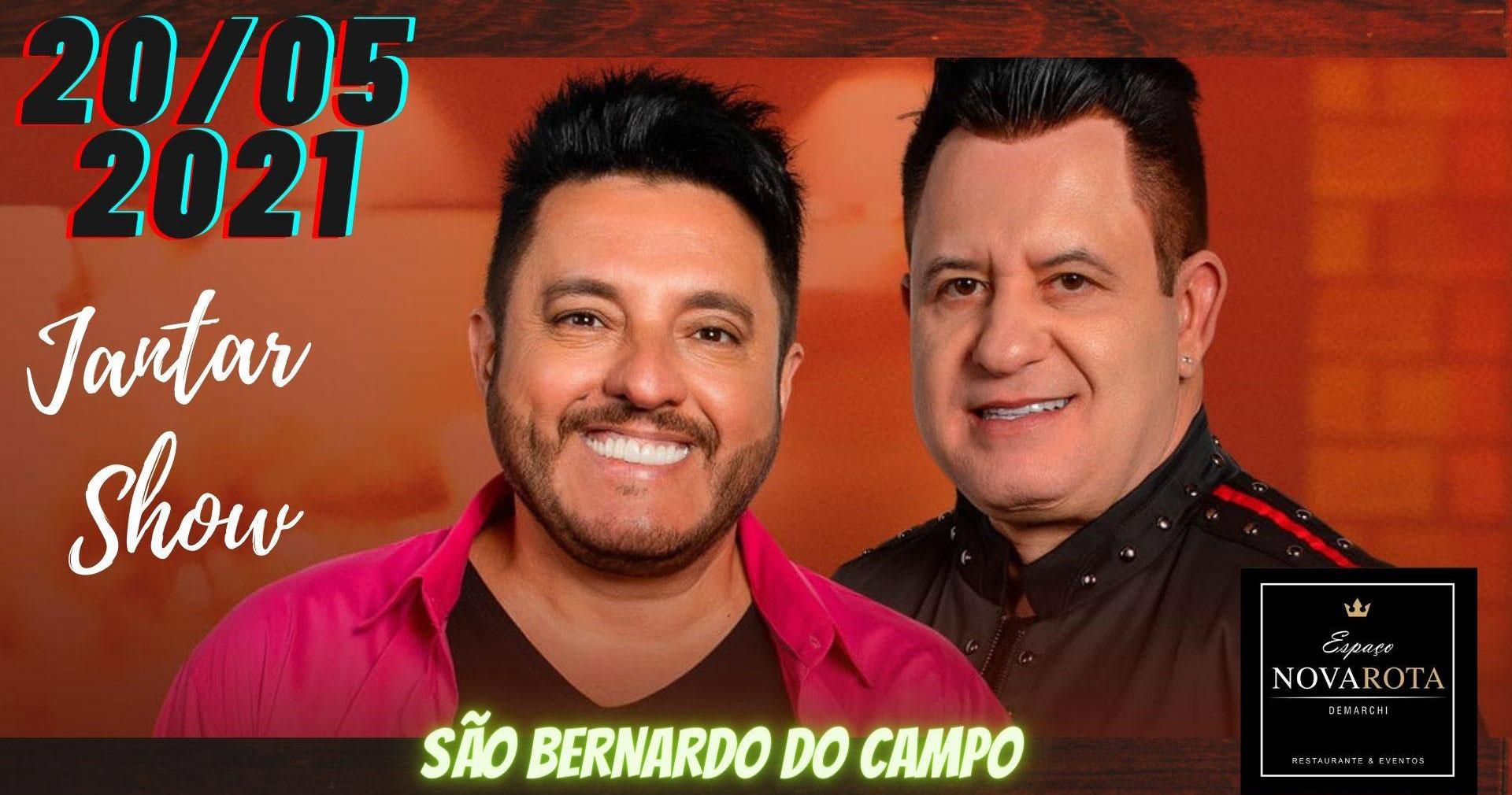 Bruno e Marrone realizam show único no Espaço Nova Rota Demarchi Eventos BaresSP 570x300 imagem