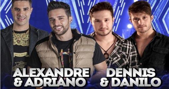 Muito sertanejo com as duplas Alexandre & Adriano e Dennis & Danilo no Bulls Club Eventos BaresSP 570x300 imagem