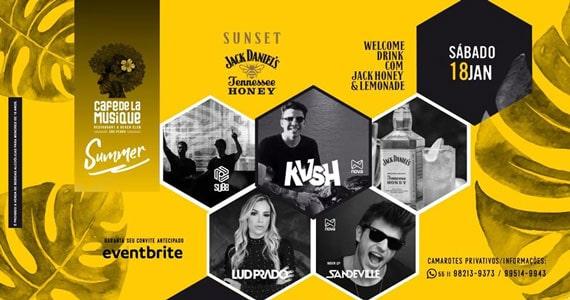 Festa Jack Daniel's Sunset agita o Cafe de la Musique Eventos BaresSP 570x300 imagem