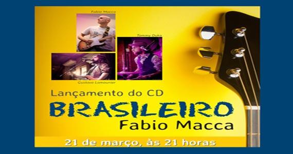 Terça-feira tem lançamento do CD Brasileiro de Fabio Macca no Café Piu Piu Eventos BaresSP 570x300 imagem