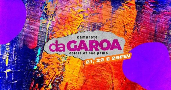 Camarote DaGaroa apresente line-up para o Carnaval Eventos BaresSP 570x300 imagem