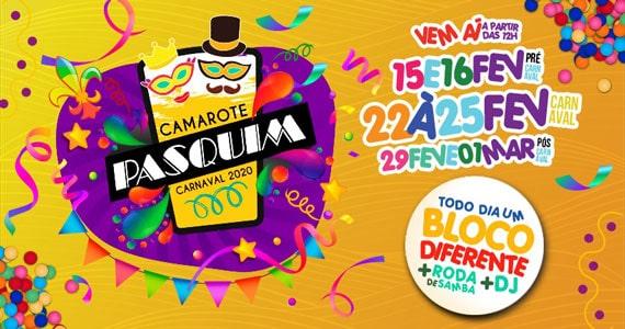 Pasquim promove mais um ano do Camarote Pasquim no Carnaval Eventos BaresSP 570x300 imagem