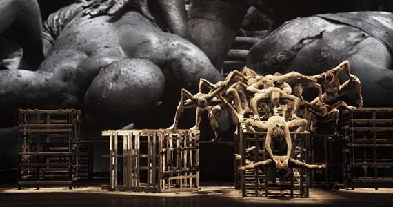 Cia de Dança Deborah Colker leva ao Teatro Sérgio Cardoso o espetáculo Cão Sem Plumas Eventos BaresSP 570x300 imagem