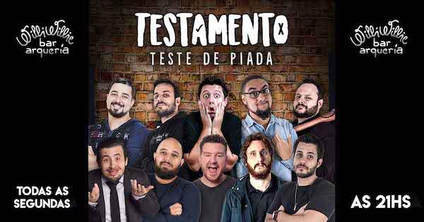 Programação - Testamento (Show de Stand Up Comedy)
