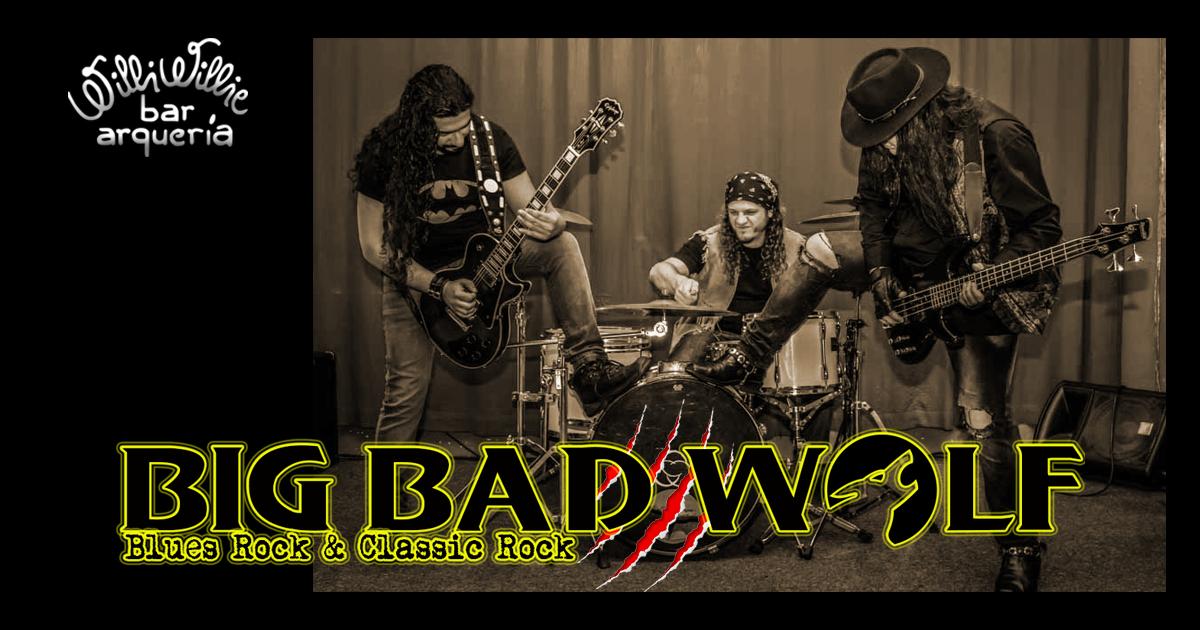Programação - Banda Big Bad Wolf (Rock & Blues)