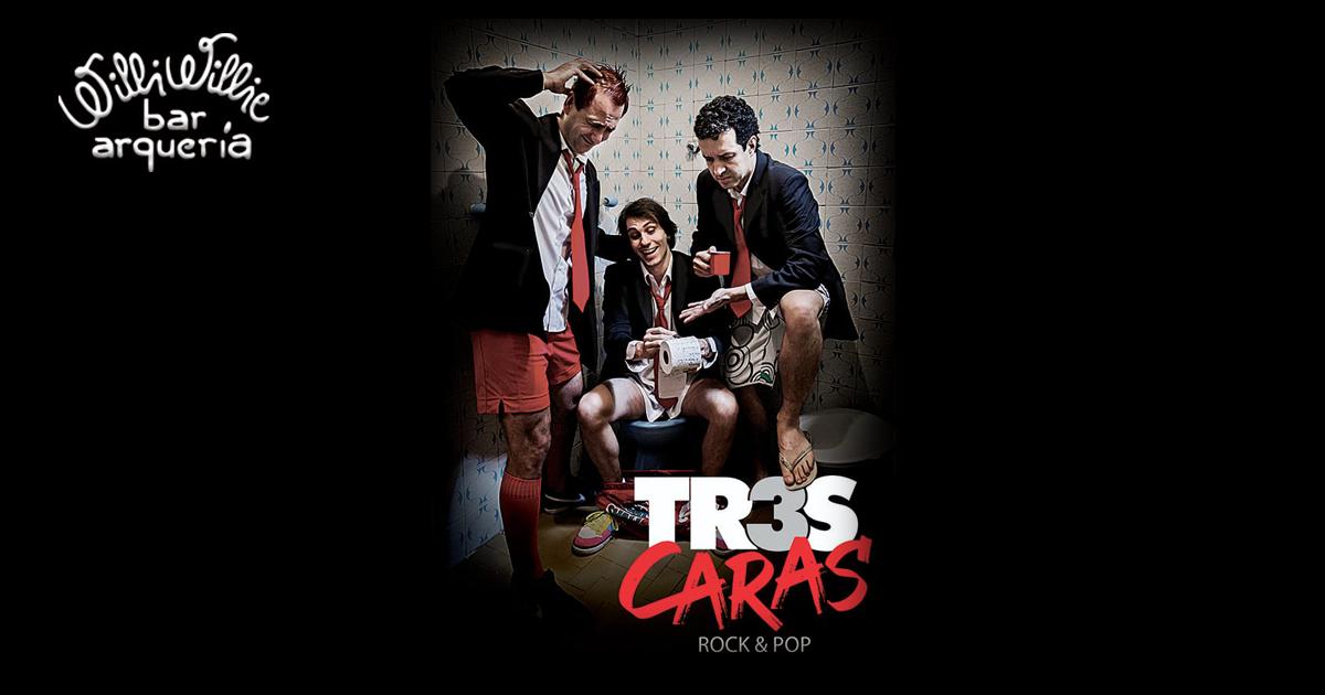 Programação - Banda Três Caras (pop/classic rock)