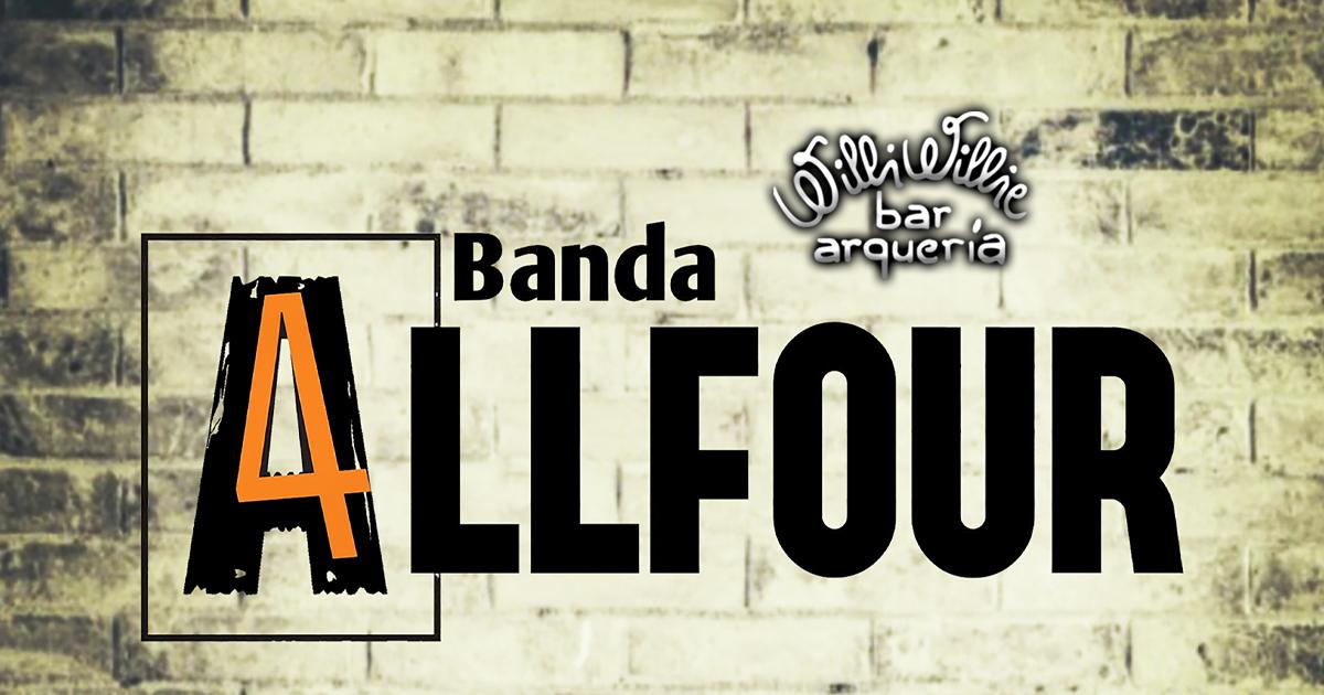 Programação - Banda Allfour + 50% OFF na série com 10 tiros!