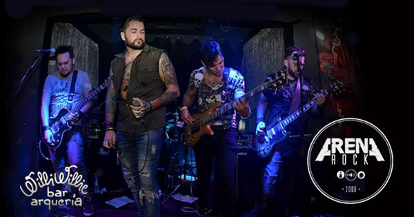 Arena Rock comanda a noite com clássicos do pop, rock e hard no Willi Willie Bar e Arqueria Eventos BaresSP 570x300 imagem