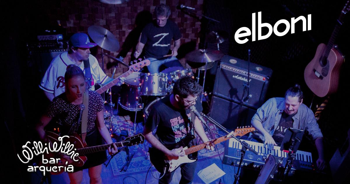 Programação - Banda Elboni (Indie Rock)