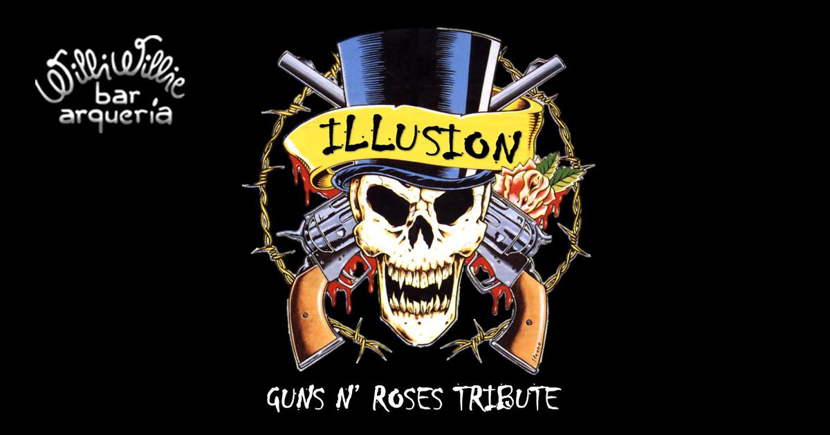Programação - Banda Illusion (Tributo ao Guns N'Roses)