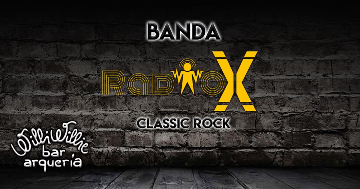 Programação - Banda Radio X (Classic Rock)